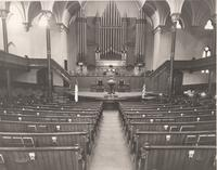 First Congregational Church Interior