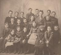 Students from unknown Poweshiek rural school