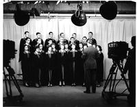 Glee Club Preparing for their TV Appearance