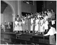 """Church of the Air,"" A CBS Nationwie Broadcast of the Grinnell Choir"
