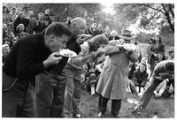 Spring Day Pie Eating Contest, 1946