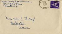 Anna Lee Freeman to Lucille Ley - November 24, 1944