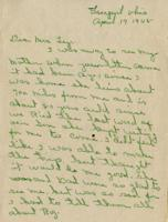Anna Lee Freeman to Lucille Ley - April 17, 1945
