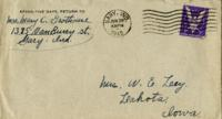 Mary Grothouse to Lucille Ley - June 28, 1945