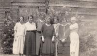 Davis School Teachers, circa 1920
