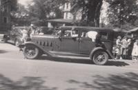 1920s car in Grinnell parade
