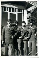 Jimmy Ley and Three Airmen