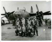 Jimmy Ley with Bomber Crew