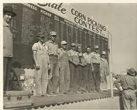 1953 Iowa Corn Picking Contest Winners