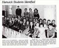 Hartwick Students 1947-1948