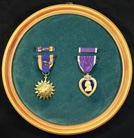 Air Medal and Purple Cross