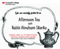 Afternoon Tea with Rabbi Abraham Skorka