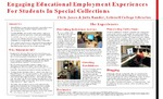 Engaging Educational Employment Experiences for Students in Special Collections