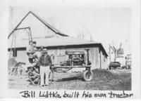 Bill Lidtka Built His Own Tractor