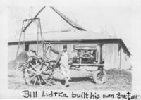 Bill Lidtka Built His Own Tractor 2