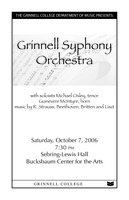 Grinnell Syphony Orchestra
