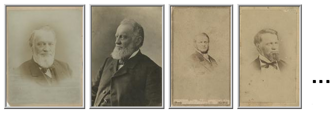 J.B. Grinnell's Portraits