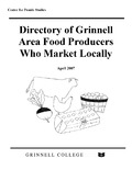 Directory of Grinnell Area Food Producers Who Market Locally