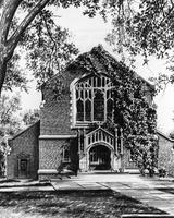 Lester Miller Drawing of Herrick Chapel