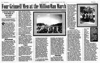 Four Grinnell Men at the Million Man March