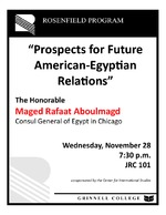 Prospects for Future American-Egyptian Relations