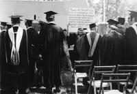 Commencement, 1969 -  Bonnie Tinker Protest