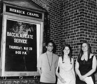 Baccalaureate Service Commencement 1969