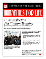 Civic Reflection Facilitation Training