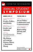 Center for the Humanities Annual Student Symposium
