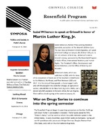 Rosenfield Program Newsletter