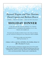 Holiday Dinner Invitation 2013
