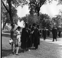 Students at 1972 Commencement