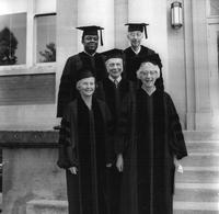 Alumni at 1973 Commencement