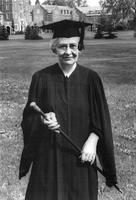 Jewell Rutherford Hawk at 1974 Commencement