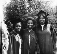 Students at 1974 Commencement