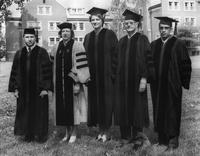 Alumni at 1974 Commencement