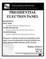 Presidential Election Panel