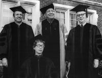 Faculty 1976 Commencement