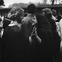 Students After Commencement 1978