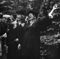 Chris Benoodt and Chris Johnson Commencement 1978