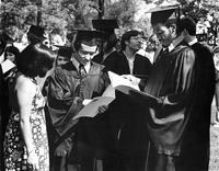 Students with Programs 1977 Commencement