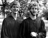William and Robert Waldner Commencement 1977