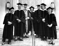 Faculty and Alumni 1977 Commencement