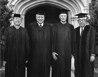 Alumni and Faculty 1981 Commencement