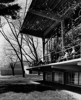 Burling Library Veranda 1960s
