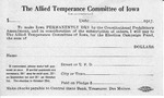 The Allied Temperance Committee of Iowa