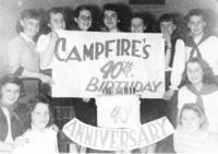 Camp Fire Girls 40th Anniversary at Grinnell College
