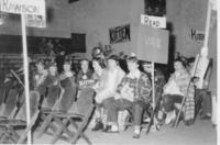 Mock Convention in Darby Gymnasium, Grinnell College