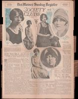 Des Moines Sunday Register Society and Clubs