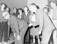 Senator Barry Goldwater Visiting Grinnell (Photograph)
